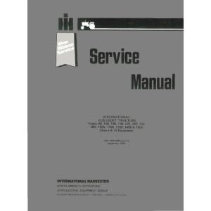 IH Cub Cadet Tractor Service Manual 86,108,109,128,129