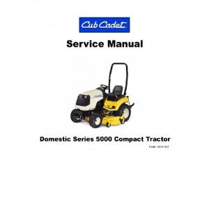 Cub Cadet 5000 Domestic Series Compact Service Manual