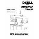Doall Bandsaw Operators Manual Model No. C-650M