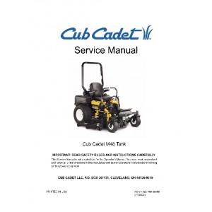 Cub Cadet M48 tank Service Manual