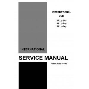 International Cub Cadet 154-184-185 Service ManualInternational Cub Cadet 154-184-185 Service Manual