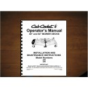 "Cub Cadet 48"" & 54"" Mower Deck Operator's Manual Model 190-289-100 /190-290-100"