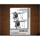 "Delta 10"" Table Saw Instruction Manual Model No. 34-426"