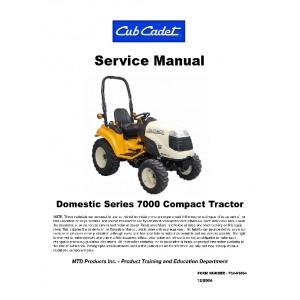 Cub Cadet 7000 Domestic Series Compact Service Manual