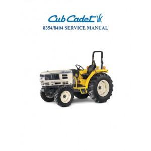 Cub Cadet 8354-8404 Service Manual