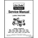 Cub Cadet Service Manual 772-3870