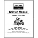 Cub Cadet Service Manual 772-3899