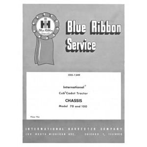 International Cub Cadet 70-100 Service Manual