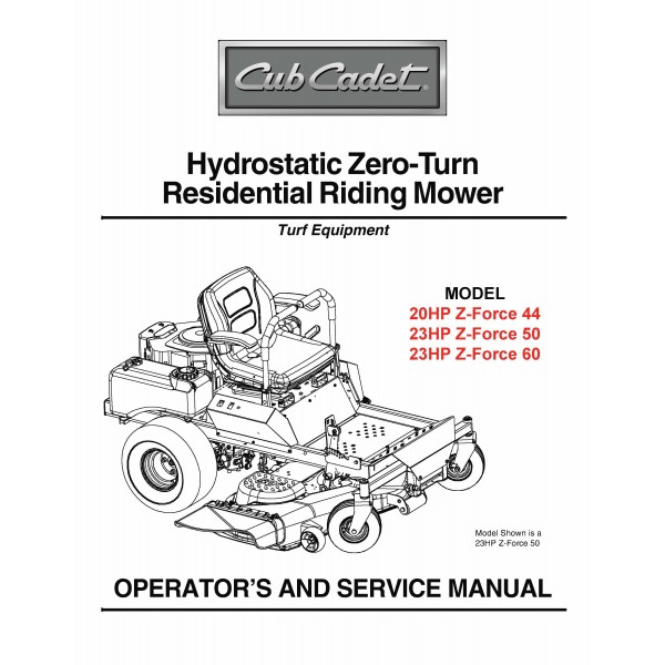 2072 Cub Cadet Repair Manual