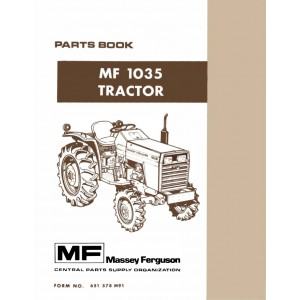 Massey Ferguson MF-1035 Parts Book