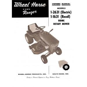 Wheel Horse Ranger 1-2631 / 1-1631 Owner's Manual